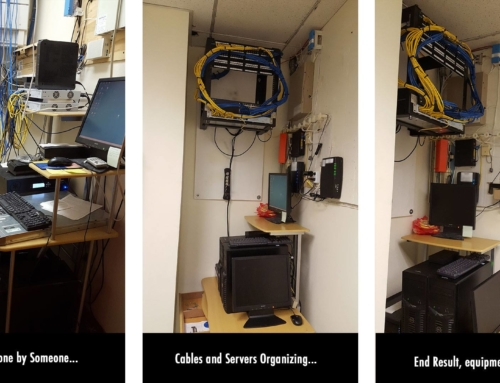 Servers and Network Equipment Organizing